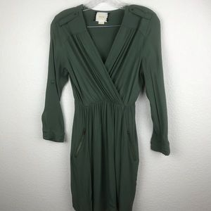 Maeve Dress NWOT Solid Green SZ XSP